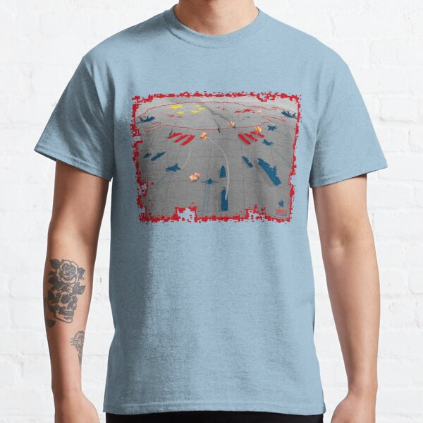 Red vs Blue Classic T-Shirt