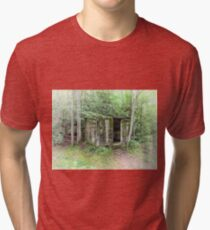 Pillbox In The Woods  Tri-blend T-Shirt