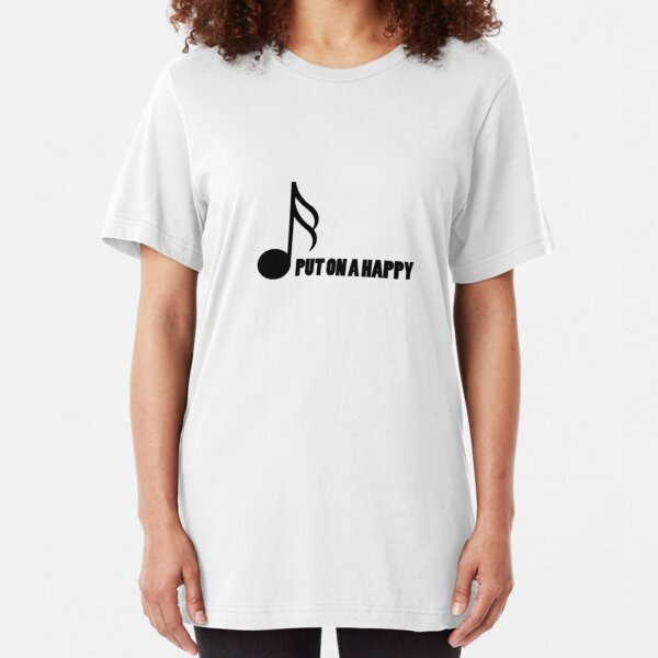 Music Note Music Lovers Gift  Slim Fit T-Shirt