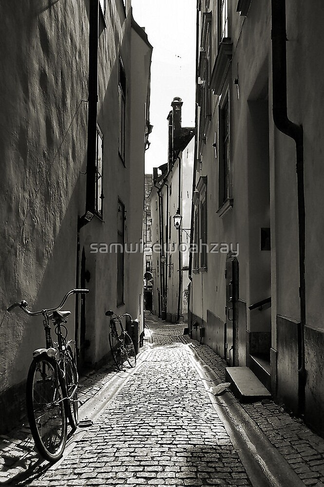 Old Town Alley by samwisewoahzay