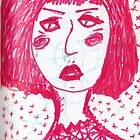 angry pink lady by sleepwalker