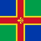 Lincolnshire Flag Phone Cases by mpodger