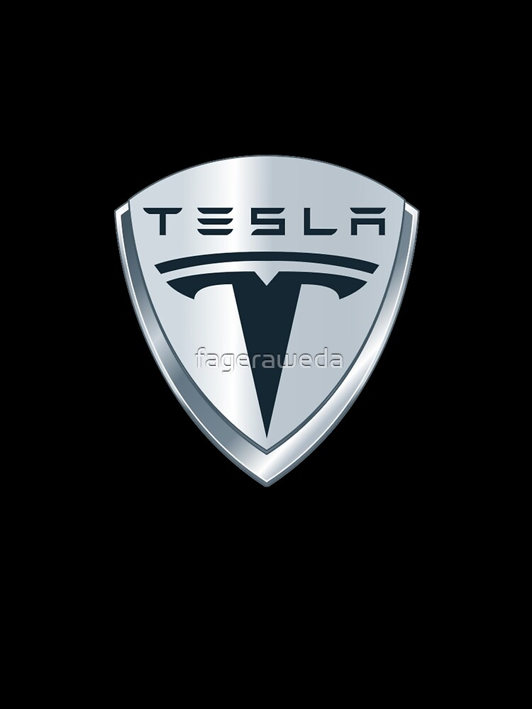 Tesla Symbol Graphic T Shirt By Fageraweda Redbubble