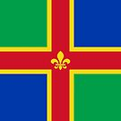 Lincolnshire Flag Phone Cases II  by mpodger