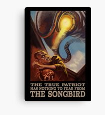 BioShock Infinite – The True Patriot Has Nothing to Fear from the Songbird Canvas Print