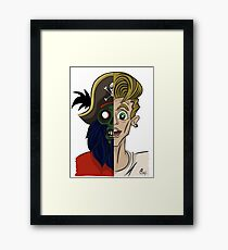 You can't choose your family. Monkey Island Framed Print