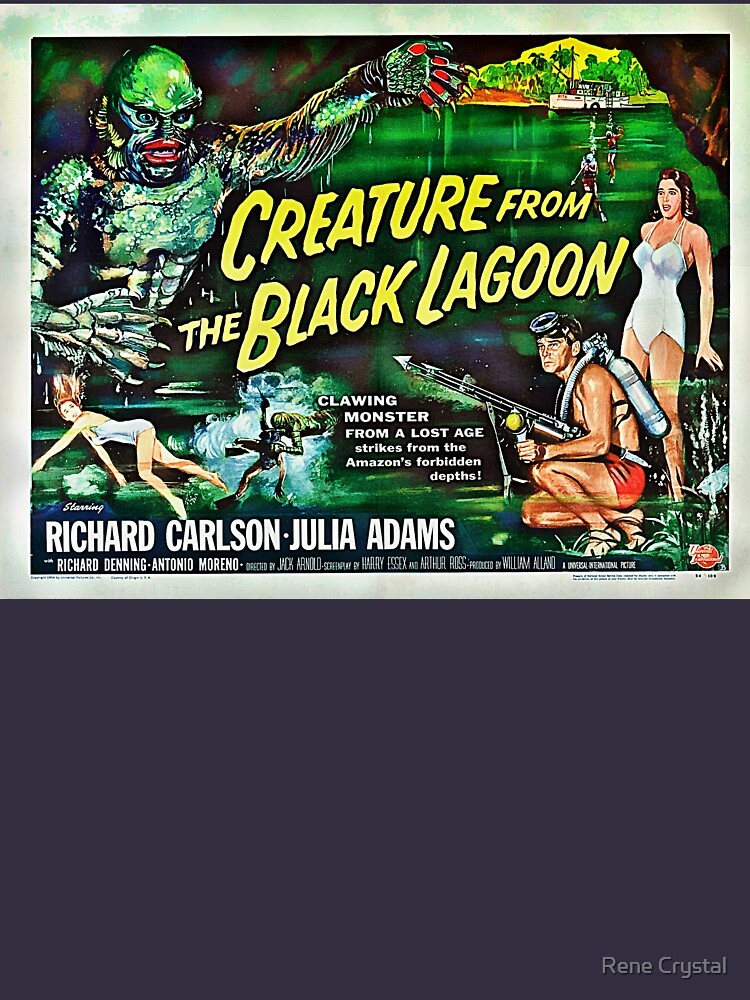 Let's Go for a Swim! 1954 Horror Flick by imagesbycrystal