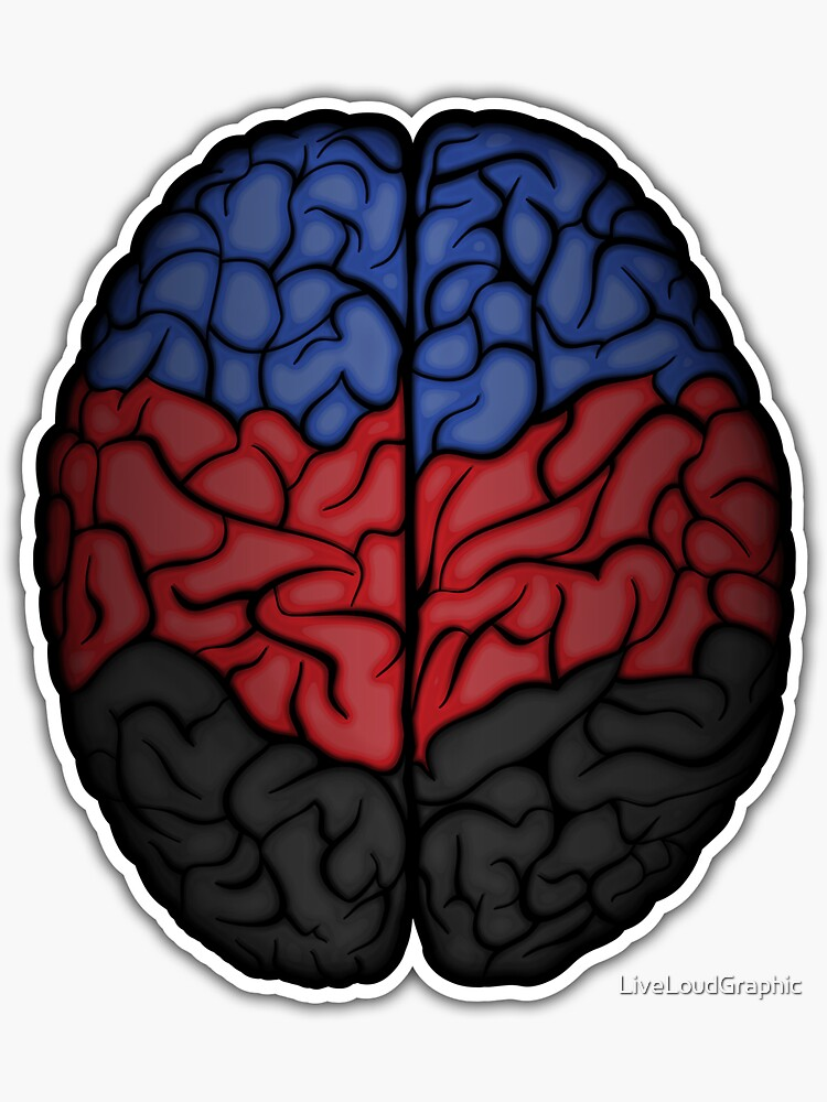 Polyamory Brain by LiveLoudGraphic