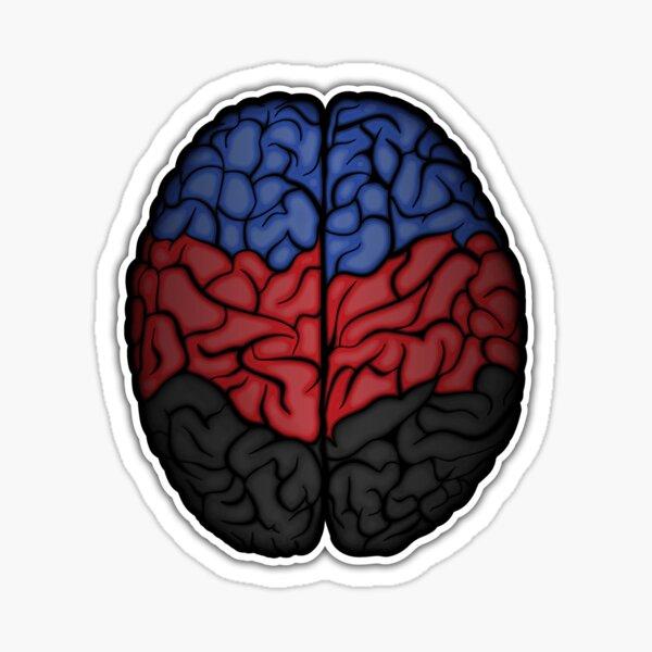 Polyamory Brain Sticker