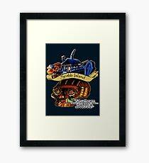 Visit Scabb Island Framed Print