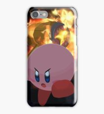 Kirbys' Flaming Hammer iPhone Case/Skin