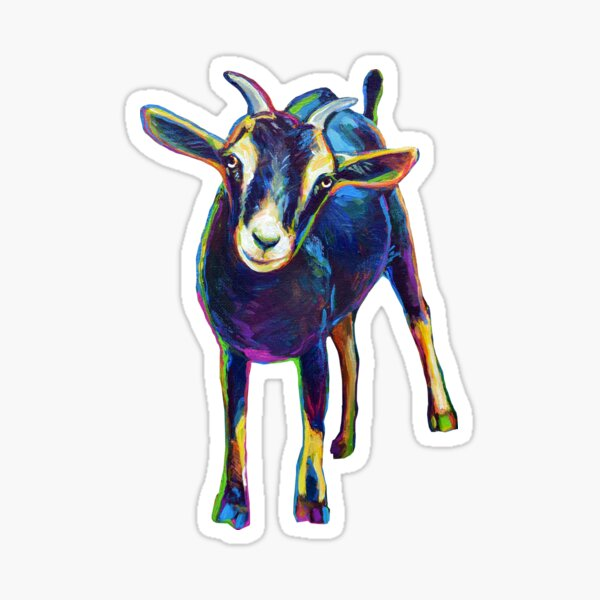 Gertie the Goat, Star of the Show Sticker
