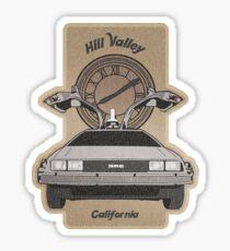 DMC Hill Valley Sticker
