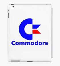 Commodore Classic Logo Clothing & Merchandise iPad Case/Skin