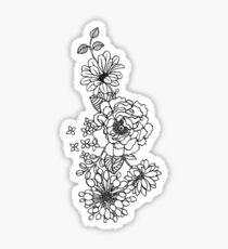 FLOWER CASE, STICKER AND NOTEBOOK Sticker