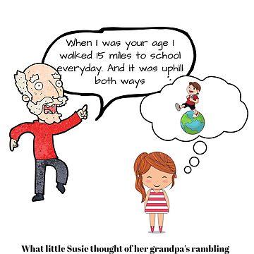 Little Susie's Rambling Grandpa Design by Hgomez84