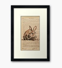 Hazel - Watership Down Collection Framed Print
