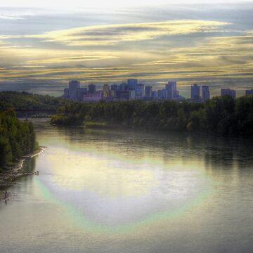 Edmonton in Fall (HDR) by eadnams