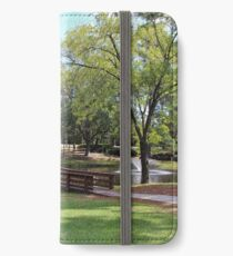 Scenic Pond iPhone Wallet/Case/Skin