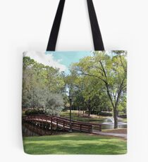 Scenic Pond Tote Bag