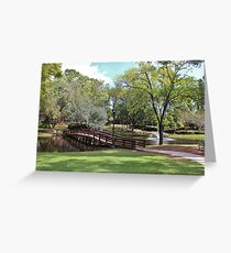 Scenic Pond Greeting Card