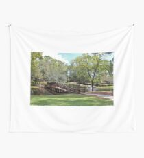 Scenic Pond Wall Tapestry