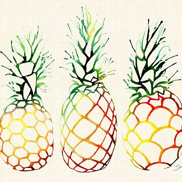 Burlap Pineapples by SamNagel