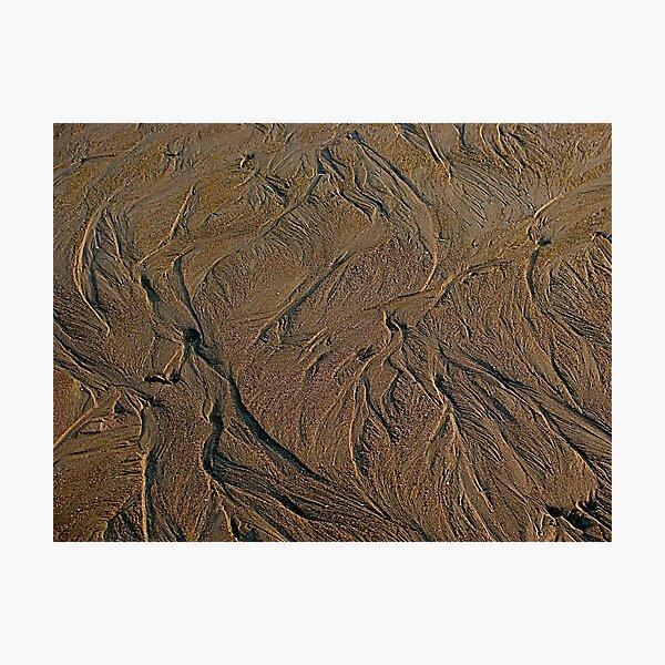 Sand Art Photographic Print