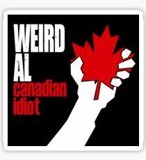 Canadian Idiot Sticker