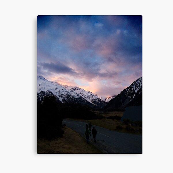 Aoraki Sunset Canvas Print
