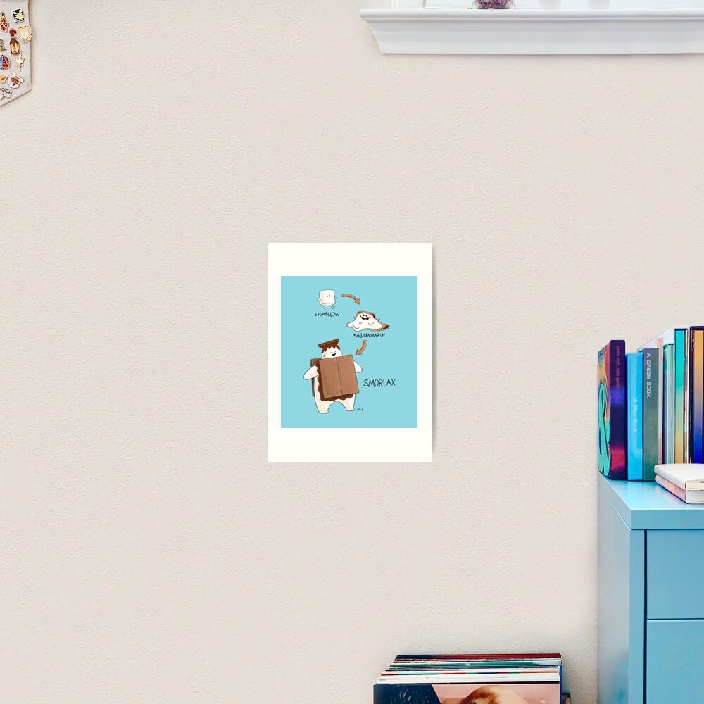 Smorlax Art Print