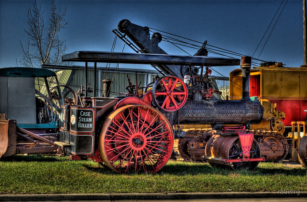 Case Steam Tractor by raberry