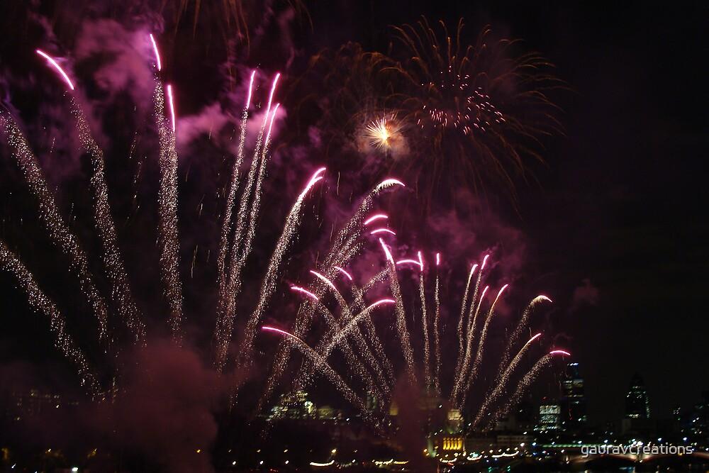 Thames Festival Finale by Gaurav Dhup