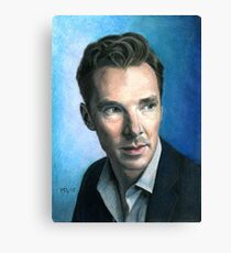 Benedict Cumberbatch. Canvas Print