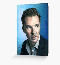 Benedict Cumberbatch. Greeting Card