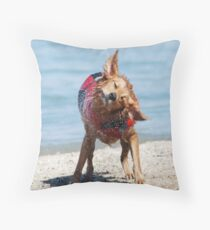 Who Needs A Blow Dryer! Throw Pillow
