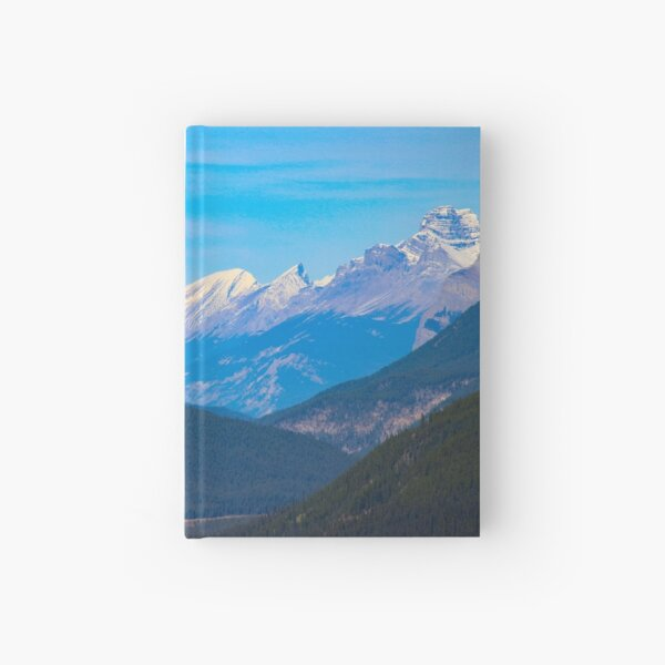 Morning mountain view Hardcover Journal