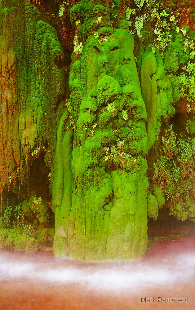 Navajo Moss Spirit by Mark Ramstead