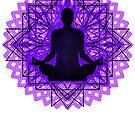 Meditation Inside a Lotus Flower by Denis Marsili