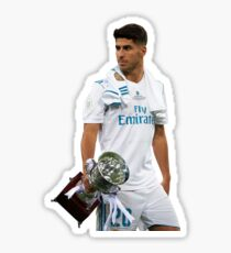 Marco Asensio, real madrid,  Sticker