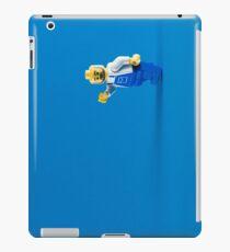 A Blue Hello iPad Case/Skin