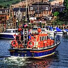 Girvan Lifeboat by Tom Gomez