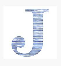 Letter J Wall Art Decorative Letter J Wall Art  Redbubble