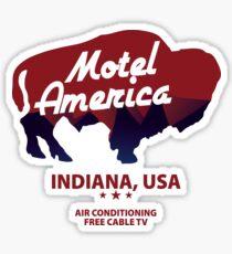 Motel America logo  (American Gods TV series) Sticker