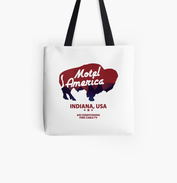 Motel America logo  (American Gods TV series) All Over Print Tote Bag