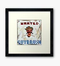 Wanted Guybrush Framed Print