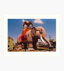 Lucy the Elephant Art Print