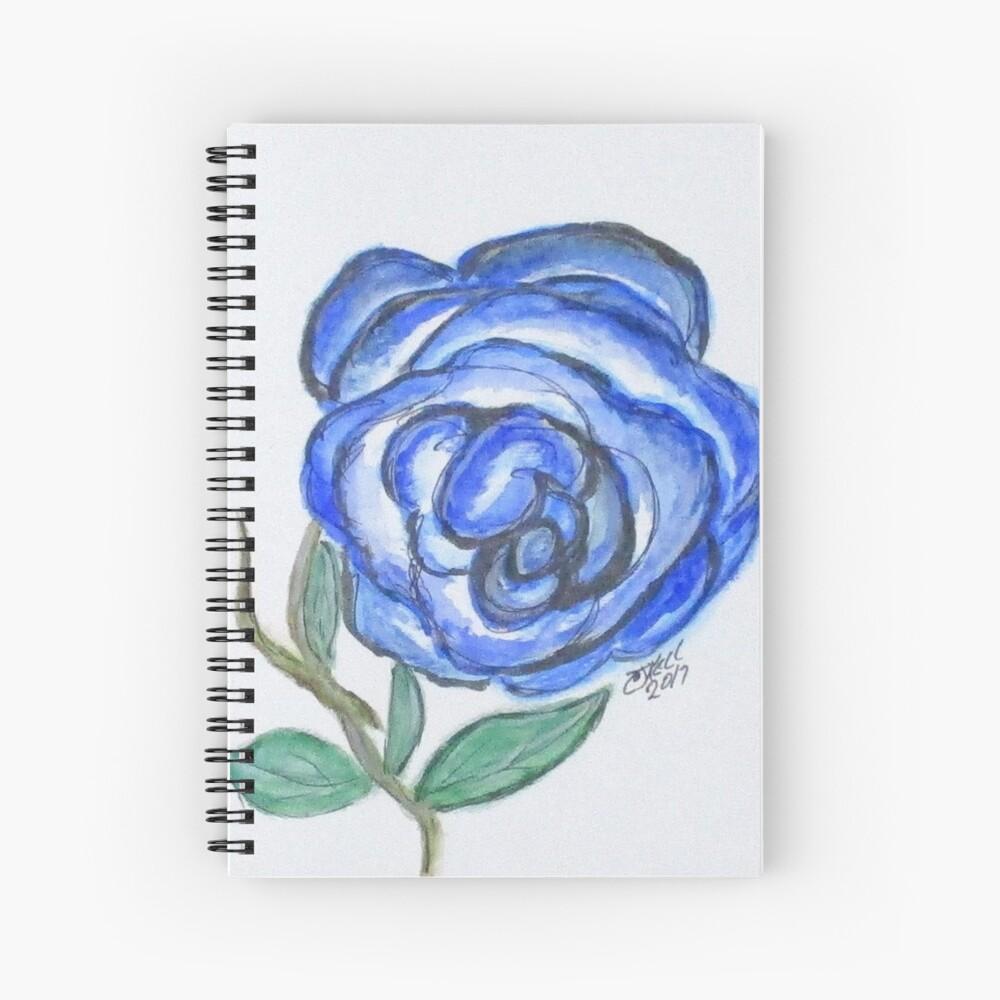 Art Doodle No. 19 Spiral Notebook