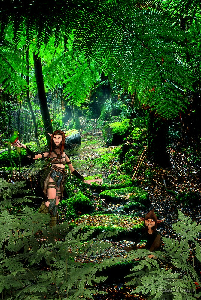 Wild Wild Tasmania - Rhana & Rose by Rose Moxon