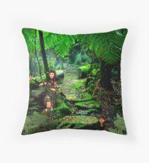 Wild Wild Tasmania - Rhana & Rose Throw Pillow